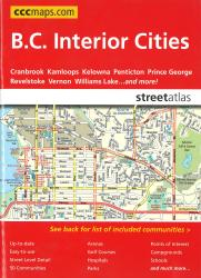 Buy map British Columbia Interior Cities Sreet Atlas by Canadian Cartographics Corporation