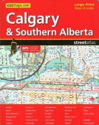 Buy map Calgary and Southern Alberta Street Atlas by Canadian Cartographics Corporation