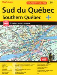 Buy map Southern Quebec, Road Atlas by Canadian Cartographics Corporation from Quebec Maps Store