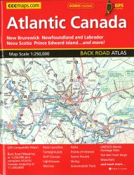 Buy map Atlantic Canada, Back Road Atlas by Canadian Cartographics Corporation from Map Store