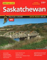 Buy map Saskatchewan Back Road Atlas by Canadian Cartographics Corporation from Saskatchewan Maps Store