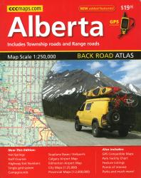 Buy map Alberta Back Road Atlas by Canadian Cartographics Corporation