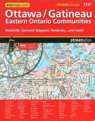 Buy map Ottawa Gatineau and Eastern Ontario Communities, Street Atlas by Canadian Cartographics Corporation from Ontario Maps Store