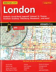 Buy map London ON, Street Atlas by Canadian Cartographics Corporation from Ontario Maps Store