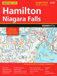 Buy map Hamilton and Niagara Falls ON, Street Atlas by Canadian Cartographics Corporation from Ontario Maps Store