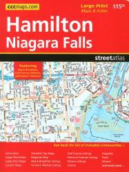 Buy map Hamilton and Niagara Falls ON, Street Atlas by Canadian Cartographics Corporation