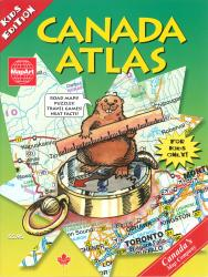 Buy map Kids Canada Atlas by Canadian Cartographics Corporation from Canada Maps Store