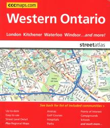 Buy map Western Ontario Street Atlas by Canadian Cartographics Corporation from Ontario Maps Store