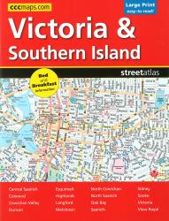 Buy map Victoria and Southern Island BC, Street Atlas by Canadian Cartographics Corporation from British Columbia Maps Store