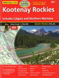Buy map Kootenay Rockies, Back Road Atlas by Canadian Cartographics Corporation