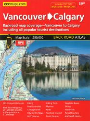 Buy map Vancouver to Calgary, Back Road Atlas by Canadian Cartographics Corporation