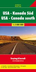Buy map United States and Southern Canada, Road Map, 1:3,000,000 by Freytag-Berndt und Artaria from United States Maps Store