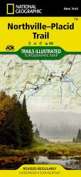 Buy map Northville-Placid Trail, Map 736 by National Geographic Maps from New York Maps Store