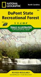 Buy map DuPont State Recreational Forest, Map 504 by National Geographic Maps from North Carolina Maps Store