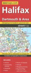 Buy map Halifax, Dartmouth and Area Street Map by Canadian Cartographics Corporation from Nova Scotia Maps Store