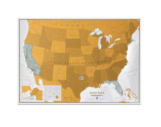 Buy map Scratch USA by Maps International Ltd. from United States Maps Store