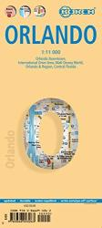Buy map Orlando, Florida by Borch GmbH. from Florida Maps Store