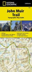 Buy map John Muir Trail Topographic Map Guide by National Geographic Maps from United States Maps Store