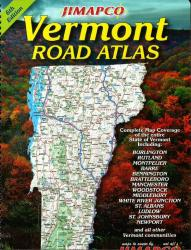 Buy map Vermont, Road Atlas by Jimapco from Vermont Maps Store