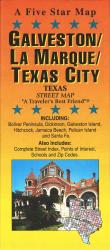 Buy map Galveston and Texas City, Texas by Five Star Maps, Inc. from Texas Maps Store