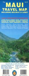 Buy map The Maui Travel Map, including Molokai and Lanai by Phears Hawaii Maps