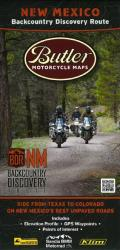 Buy map New Mexico Backcountry Discovery Route by Butler Motorcycle Maps from New Mexico Maps Store