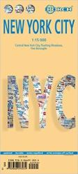 Buy map New York City, New York by Borch GmbH. from New York Maps Store