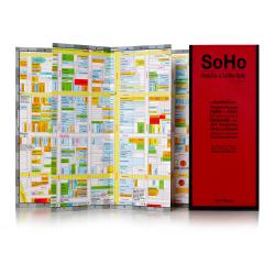 Buy map SoHo, Nolita and Little Italy, New York City by Red Maps from New York Maps Store