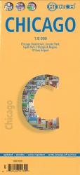 Buy map Chicago, Illinois by Borch GmbH.