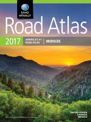 Buy map United States, Canada and Mexico, 2017 Midsize Road Atlas by Rand McNally from United States Maps Store