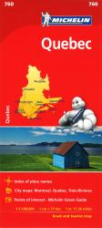 Buy map Quebec (760) by Michelin Maps and Guides from Quebec Maps Store