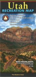 Buy map Utah Recreation Map by Benchmark Maps from Utah Maps Store