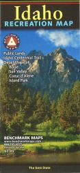 Buy map Idaho Recreation Map by Benchmark Maps from Idaho Maps Store