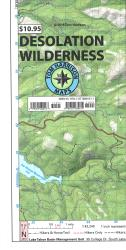 Buy map Desolation Wilderness Trail Map by Tom Harrison Maps from California Maps Store
