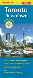 Buy map Toronto Downtown, Explorer Map by Canadian Cartographics Corporation from Ontario Maps Store