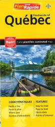 Buy map Quebec Province, Laminated map by Canadian Cartographics Corporation from Canada Maps Store