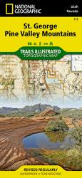 Buy map St George, Pine Valley Mountains, Map 715 by National Geographic Maps from Utah Maps Store