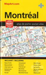 Buy map Montreal, Pocket Street Atlas by Canadian Cartographics Corporation from Canada Maps Store