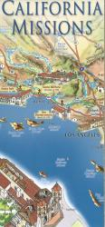Buy map California Missions Map by East View Press from California Maps Store