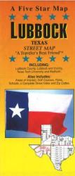 Buy map Lubbock, Texas by Five Star Maps, Inc. from Texas Maps Store