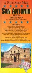 Buy map San Antonio, Texas by Five Star Maps, Inc. from Texas Maps Store