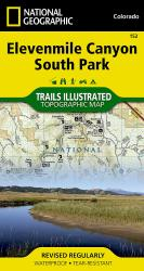 Buy map Elevenmile Canyon and South Park, CO, Map 152 by National Geographic Maps from Colorado Maps Store