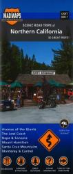 Buy map California, Northern, Regional Scenic Tours by MAD Maps from California Maps Store