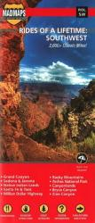 Buy map Rides of a Lifetime: Southwest by MAD Maps from United States Maps Store