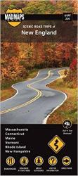 Buy map New England, Regional Scenic Tours, Part 2 by MAD Maps from United States Maps Store