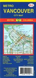 Buy map Vancouver Metro, City Map by GM Johnson from British Columbia Maps Store
