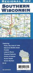 Buy map Wisconsin, Southern, Back Roads by GM Johnson from Wisconsin Maps Store