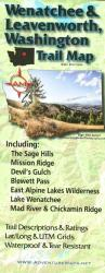 Buy map Wenatchee and Leavenworth, Washington, Trail Map by Adventure Maps from Washington Maps Store