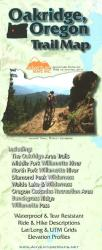 Buy map Oakridge, Oregon, Trail Map by Adventure Maps from Oregon Maps Store
