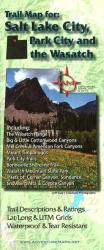 Buy map Salt Lake City, Park City, and the Wasatch, Trail Map by Adventure Maps from Utah Maps Store